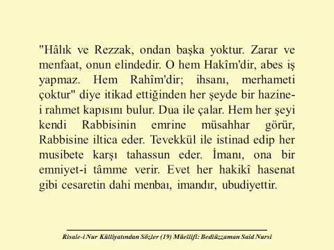 Sözler den Üçüncü Söz Sayfa 18 19 Sesli E Kitap Risale i Nur Külliyatı Said Nursi