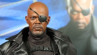 NICK FURY Captain America: The Winter Soldier HOT TOYS review