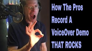 Recording A Commercial Voiceover Demo with Bob Bergen - How To Do Voice Over, Voice Actors