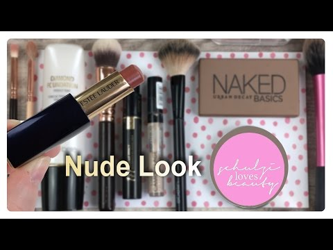 Nude Make-Up Tutorial / Nude Look / Nude All Day Make-Up // schulzi_loves_beauty