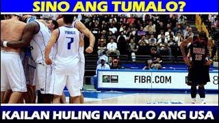 ANG MASAKIT NA PAGKATALO NG USA   FIBA WORLD BASKETBALL   TEAM USA