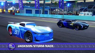 Cars 3: Driven to Win (PS4) - Cam Spinner vs. Jackson Storm (Hard Mode)