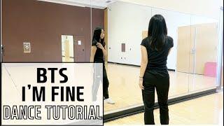 """I'm Fine"" BTS(방탄소년단) Lisa Rhee Dance Tutorial"