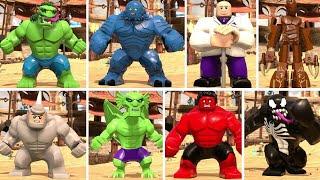 LEGO Marvel Super Heroes 2 - All Big Fig Characters (Showcase)