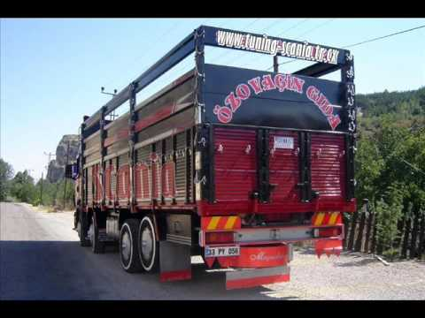 Türkiyeden Kırkayak Scanialar