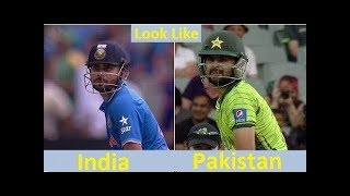 Top 22 Famous Cricketers Who look alike Other People