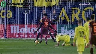اهداف مبارة فياريال و برشلونة | 0-2  | الدوري الإسباني |  10-12-2017 | HD