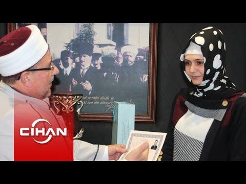 Rus asıllı Anastasia Müslüman oldu Elif ismini aldı