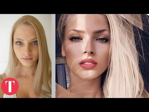 Xxx Mp4 10 Hot Instagram Stars Before Plastic Surgery 3gp Sex