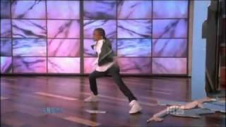 """Jaden Smith """"The Karate Kid"""" Dancing on The Ellen Degeneres Show"""