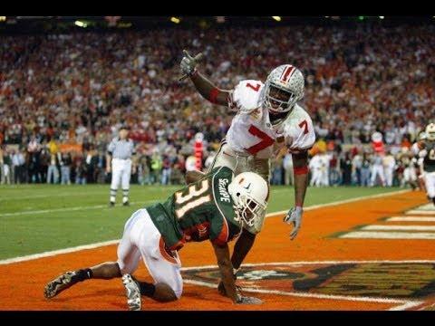 2003 Fiesta Bowl 2 Ohio State 13 0 vs 1 Miami 12 0