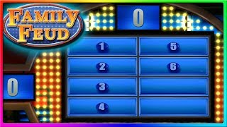 To Cheat or Not To Cheat?   Family Feud Funny Game