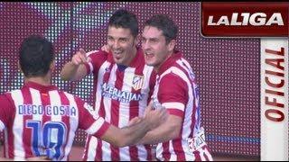 Resumen de Real Sociedad (1-2) Atlético de Madrid - HD - Highlights