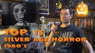 Top 15 Silver Age Horror - Monster Madness X day #18