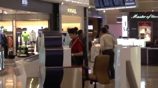 Duty Free Shopping Area and information desk ,Mumbai International Airport, India