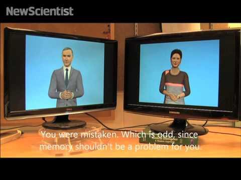 Robots chat when humans aren't around