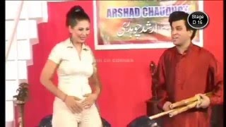 Tariq Teedy Pheena and  Best Jokes With Shahzadi Stage Drama 2016 by MA Production stage drama pakis