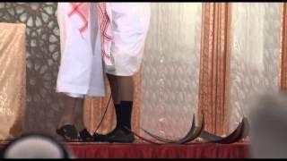 تكفيير ناصر القصبي والطعن في زوجته من قبل خطيب جمعة في السعودية (سعيد بن فروة