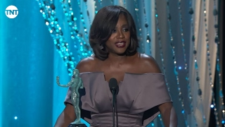 Viola Davis I SAG Awards Acceptance Speech 2016 I TNT