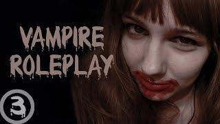 ASMR Vampire Roleplay (slurping, whispering)