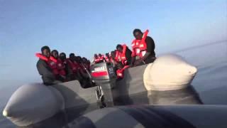 3. Rettungseinsatz der Sea-Watch - third rescue mission of Sea-Watch