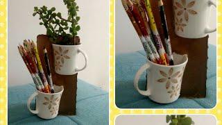 DIY Multipurpose cups/ best use of old teacups or coffee mugs