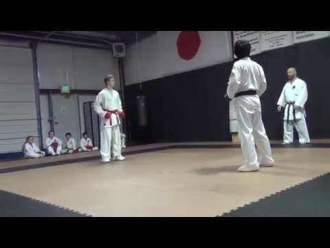 Karate Class Sparring (02.01.2014)