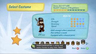 Naughty Bear ALL Costumes (DLC Included) HD