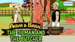 Akbar And Birbal - The Oil man & the Butcher - Funny Animated Stories