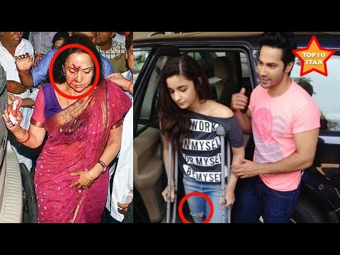 Bollywood celebrity who survived car accidents Hema Malini to Alia Bhatt