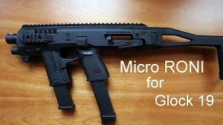 Micro Roni for Glock 19 9mm
