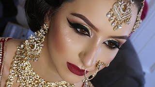 Real Bride | Asian Bridal Makeup | Traditional Signature Look