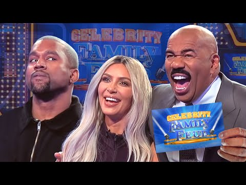 Kim & Kanye and the Kardashians Clash All the CRAZIEST MOMENTS Celebrity Family Feud