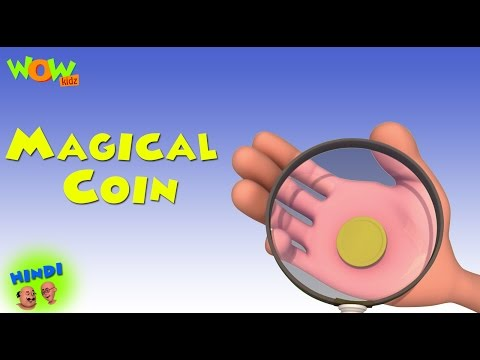 Magical Coin - Motu Patlu in Hindi - 3D Animation Cartoon for Kids -As seen on Nickelodeon
