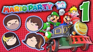Mario Party 10: Figure It Out! - PART 1 - Grumpcade