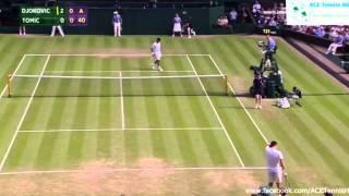 Novak Djokovic vs Bernard Tomic Full  Highlights Wimbledon 2015
