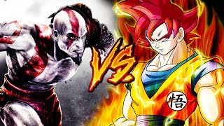 GOKU VS. KRATOS RAP EPIC (Dragon Ball Super & GOD OF WAR) Ft. BTH GAMES & MAYCOL