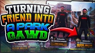 TRANSFORMING MY IRL FRIEND INTO A UNDEFEATED PARK GAWD IN 2K18! P2 & DON RETURN TO THE PARK!