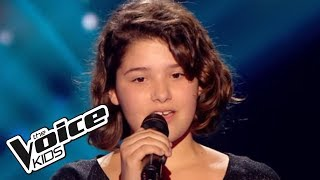 The Voice Kids 2015 | Coline - People Help the People (Birdy) | Blind Audition