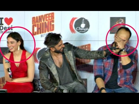 Xxx Mp4 Ranveer Singh FUNNY Moments With Reporters At Ranveer Ching Return Launch 3gp Sex