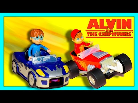 Xxx Mp4 ALVINNN AND THE CHIPMUNKS Nickelodeon Alvin Sock Racing Cars With PJ Masks New Toys Video 3gp Sex