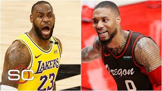 Woj on what the Lakers and the Blazers will do in the offseason | SportsCenter