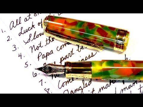 Fountain Pen Nib Swap - Pen ASMR