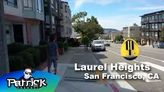 Laurel Heights street @SanFrancisco