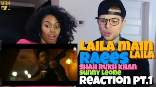Laila Main Laila  Raees  Shah Rukh Khan  Sunny Leone Reaction Pt1