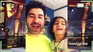 মেয়ের সাথে জিৎ এর খুনসুটি , যা দেখলে অবাক হবেন | Jeet with his Daughter Live Video|Channel IceCream