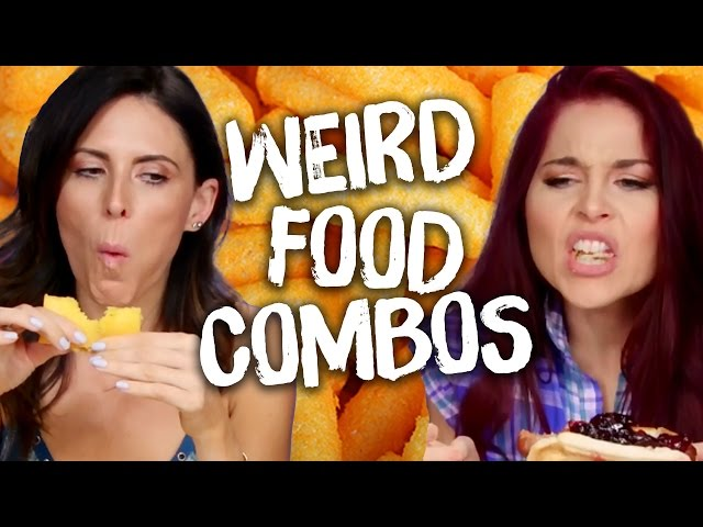 10 Weird but Yummy Food Combinations?! (Cheat Day)