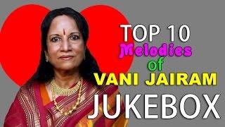 Top 10 Melodies of Vani Jairam   Tamil Movie Audio Jukebox