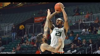 Miami vs. Barry Exhibition Game Highlights