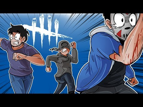 Dead By Daylight LEAVING GORILLA BEHIND Surviving with friends